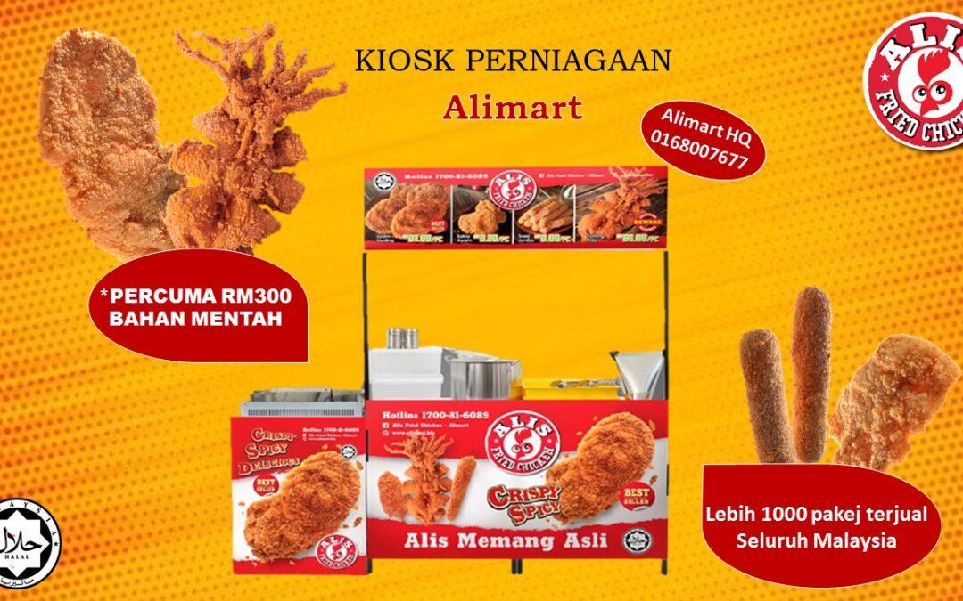 Kiosk Perniagaan Alimart Promosi Terbaru!